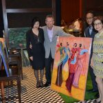 Visit some artists at Renansance hotel
